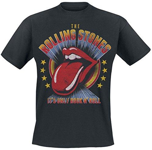 The Rolling Stones - T-shirt - Uomo nero Small