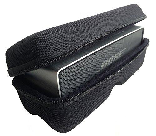 CASEBUDi Tough Speaker Case   Made for Bose SoundLink Mini and Mini 2   Black Ballistic Nylon