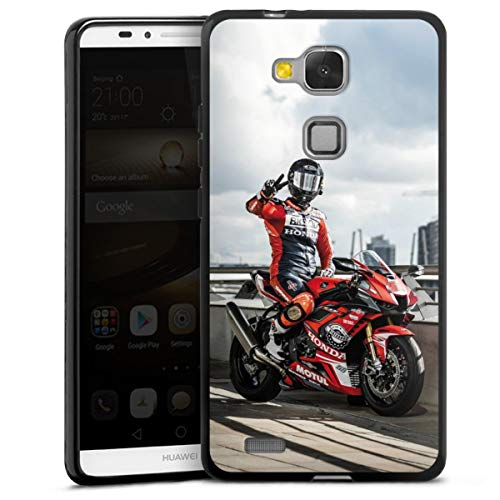DeinDesign Silikon Hülle kompatibel mit Huawei Ascend Mate 7 Hülle schwarz Handyhülle YouTube Meddes Fanartikel