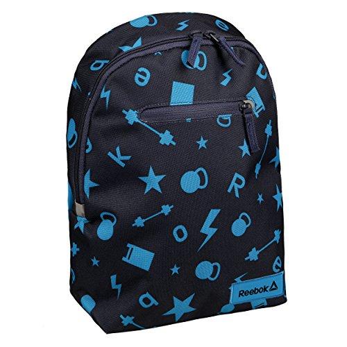 Reebok Unisex Back-to-School Graphic Backpack 2 Junior Sporttaschen, blau, 750 x 40 x 33 cm, 70 Liter