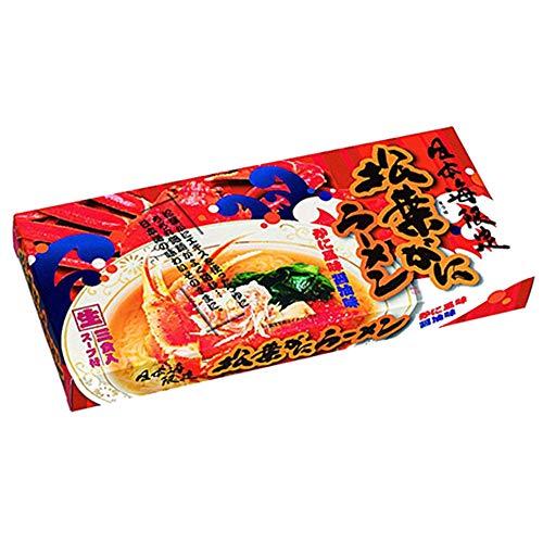 特選素材ラーメンシリーズ 箱入松葉ガニラーメン 小 ×26箱 RM-47