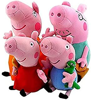 Peppa Pig Family George Stuffed Toy Plush Doll (4pcs/lot)