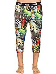 mens long underwear wild animal