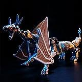 Figura de acción coleccionable Toy Transforming Toys King Kong Movie 5 Calamity Dragon Knight Versión ampliada Boy Child Modelo Boys Transformando Robot Cars Juguetes Transformers Juguetes para niños