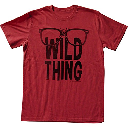 Major League Sports Comedy Baseball Movie Wild Thing Red Adult T-Shirt Tee