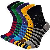 PUTUO Calcetines Dedos Hombres Running Calcetines de Deportes de Algodón, Hombres Cinco Calcetines del dedo del pie, 39-44