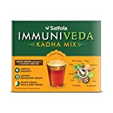 Saffola Immuniveda Kadha Mix- 80g (20 Sachets x 4g) | Ayurvedic Immunity Booster Herbal Tea with Ayush Kwath
