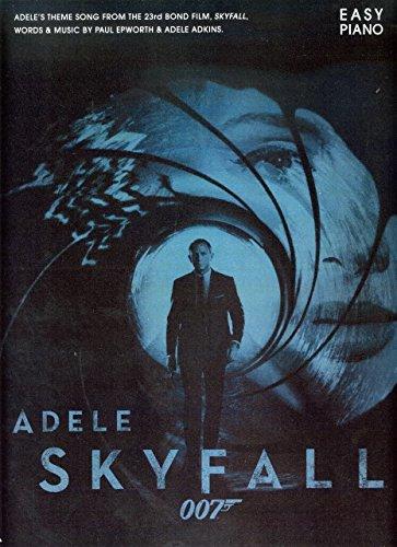 SKYFALL - arrangiert für Klavier [Noten / Sheetmusic] Komponist: Adele