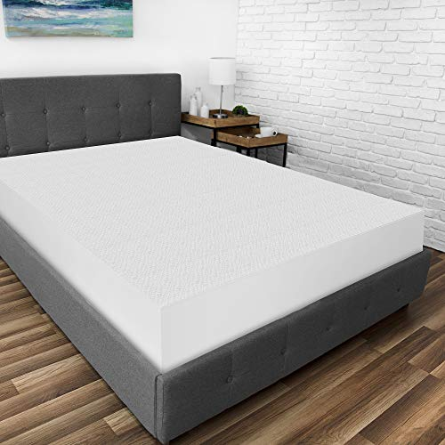BioPEDIC Protector de colchón, Blanco, Individual Extra Grande, 1