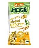 MOGLi Bio (demeter) Dinkelbällchen 10er Pack, (10 x 40g) (Gartenkräuter)