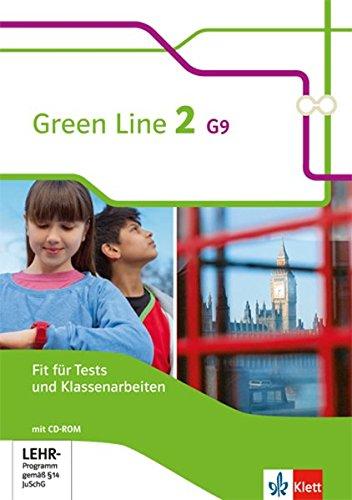 Green Line 2 G9: Fit für Tests und Klassenarbeiten mit Lösungsheft und CD-ROM Klasse 6 (Green Line G9. Ausgabe ab 2015)