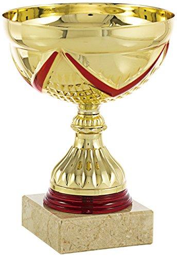 PALLART 7117–3Trofeo Sportivo con Motivo Nastro, Oro, Taglia Unica