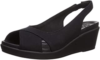 Crocs Women's Leigh Ann Slingback Wedge Sandal