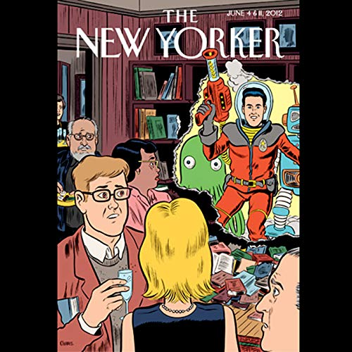 The New Yorker, June 4th & 11th 2012: Part 1 (Colson Whitehead, Laura Miller, Philip Gourevitch) cover art