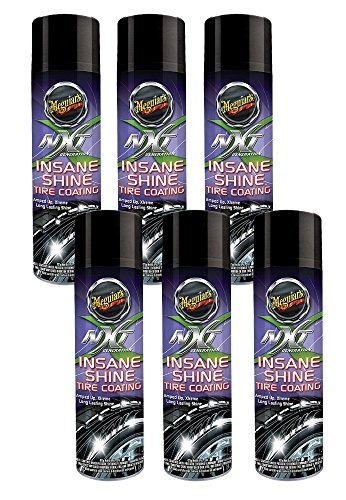 Meguiar's NXT Generation Insane Shine Tire Coating (15 oz) - Pack of 6
