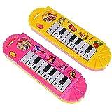 Mallalah - Piano de música electrónica - Juguetes educativos para principiantes, juguete musical par...