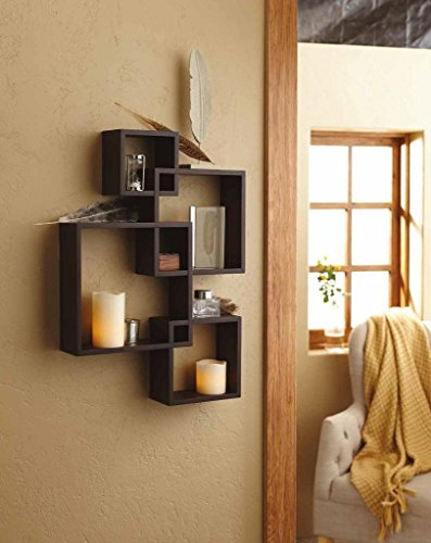 Intersecting Small Shelves For Bedroom