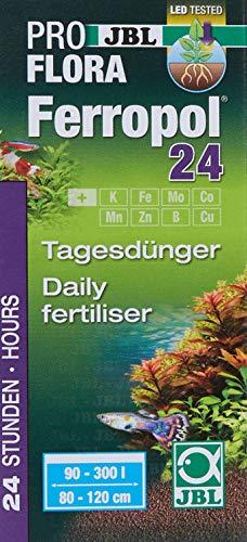 JBL Ferropol 24 20181, Tages-Pflanzendünger für Süßwasser-Aquarien, 50 ml