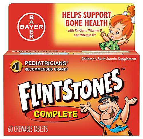 Flintstones Chewable Tablets Complete 60 ea (Pack of 5)