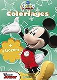 La maison de Mickey - Coloriage avec stickers