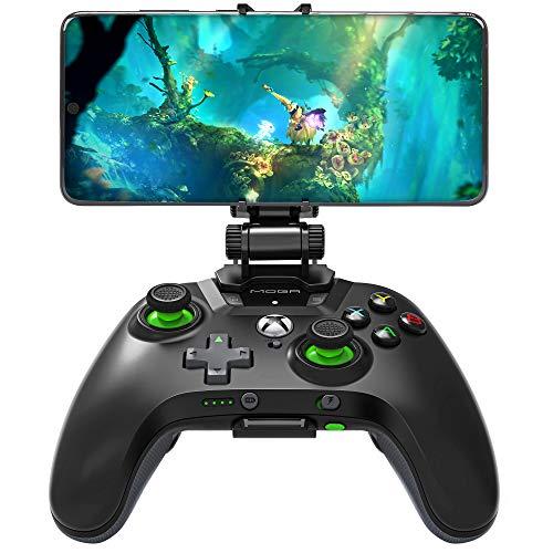 Samsung Gamepad MOGA XP5-X+ Controller, Bluetooth-Konnektivität, wiederaufladbarer Akku, über 100 Xbox Spiele, Dual Locking Gelenk, Schwarz