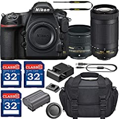 This Grace Photo Camera Bundle Comes Complete With Manufacturer Supplied Accessories (U.S. Compatible) and a 1 Year Seller Provided Warranty, Package Includes: Nikon D850 DSLR Camera (Import Model) - 45.7MP FX-Format BSI CMOS Sensor - EXPEED 5 Image ...