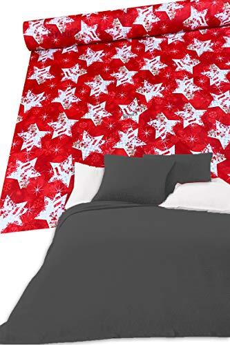 Colcha navideña para cama de matrimonio de algodón biológico, no necesita planchado, para cama individual de plaza y media, hecha a mano, multiusos, para sofá de Navidad