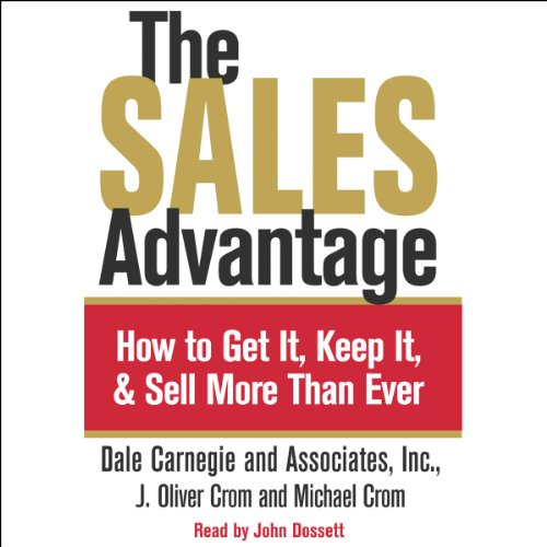 The Sales Advantage audiobook cover art