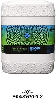 Vegamatrix VX50030, 5 gal Grow Nutrient, 5 Gallon, White