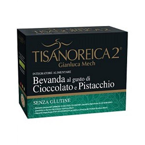 Tisanoreica 2 M.E.D. Bevanda Al Gusto Cioccolato E Pistacchio 4 Preparati Da 30g