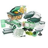 Genius Nicer Dicer Chef | Deluxe-Set | 34 Teile | Obst- & Gemüseschneider |...