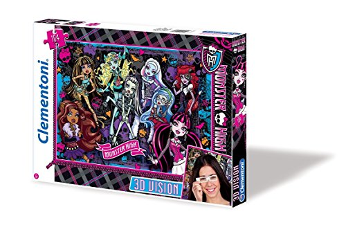 Clementoni - Puzzle Monster High de 104 Piezas (13403.8)