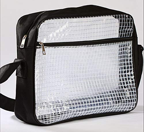 【さくら商店】 エンジニアバッグ ショルダータイプ クリーンルーム 帯電 静電気防止 透明バッグ クリアバッグ