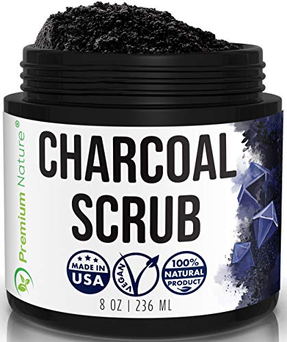 Activated Charcoal Exfoliating Body Scrub