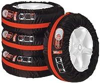 caravan Custodia per la ruota di scorta per auto 4x4 colore nero camper e utilitarie con pneumatici di qualsiasi dimensione
