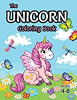 The Unicorn Coloring Book: For Kids Ages 4-8 (With Unique Coloring Pages!)