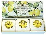 Geschenk Boxed Hand Seifen 3 x 100g Zitrone & Mandarine