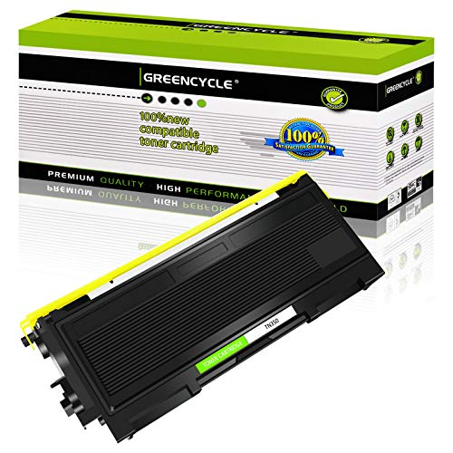 GREENCYCLE 2500 Pages per Toner Cartridge Replacement Compatible for Brother TN350 TN 350 Used in Intellifax 2820 2850 2920 HL-2070N 2070NR 2040 DCP-7020 7025 MFC-7820n (Black, 1-Pack)