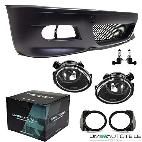 DM Autoteile Sport Stoßstange Vorne passt für E46 Vorfacelift + Nebelscheinwerfer nicht M3