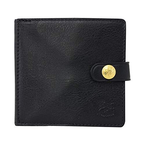 [イルビゾンテ]ILBISONTEイルビゾンテ財布C0508P153nero二つ折り財布ボタン式メンズレディースユニセックス[並行輸入品]
