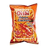 Oishi Prawn Crackers Spicy Flavor Pack of Two 3.17 Oz or 90 G a Pack