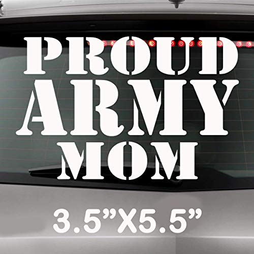 Proud Marine Mom Collegiate Military United States Solider Decal