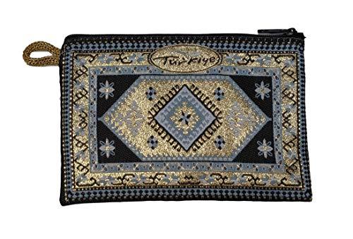 Equal Earth - Monedero con diseño de alfombra exótica, regalo étnico inusual...