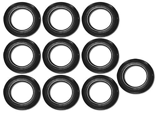 10 Stk. Universal-Lippendichtung 43 mm Durchmesser für Küchenspüle Stopfenventil und Siebkörbchen - Ersatzteil: Dichtungsring Dichtung Abfluss-Ventildichtung