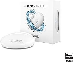 Fibaro Fgfs‐101 Akıllı Ev Su Basma Sensörü, Beyaz