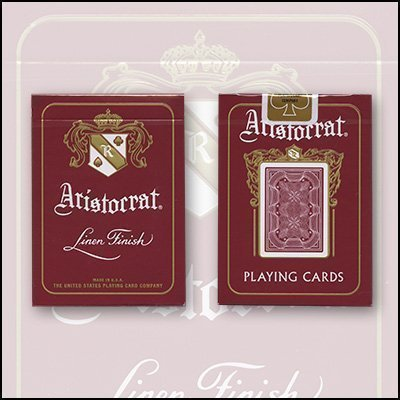 Mazzo Aristocrat rosso (US Playing Card Company)