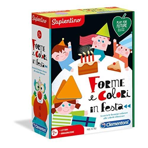 Clementoni-16147-Sapientino-Forme in Festa, Gioco educativo, Multicolore, 16147
