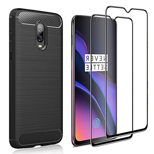 Wineecy OnePlus 6T Funda 360 Grados Integral Ambas