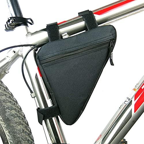 ACEACE Bolsa de Asiento de Bicicleta Impermeable Bicicleta de Almacenamiento Bolsa de Silla de Montar de Ciclismo Bolsa Trasera Bolsa de Bolsa Accesorios de Silla de Montar (Color : 80097 Black)