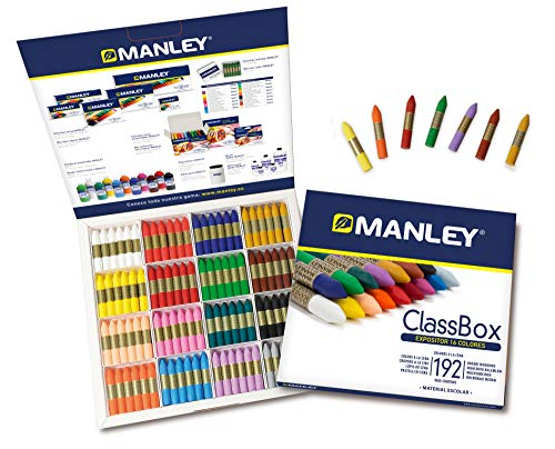 Manley 124-crayons 24 pièces
